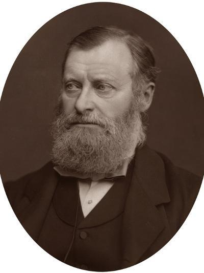 William Edward Forster Mp, 1878-Lock & Whitfield-Photographic Print