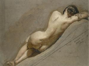 Life Study of the Female Figure by William Edward Frost