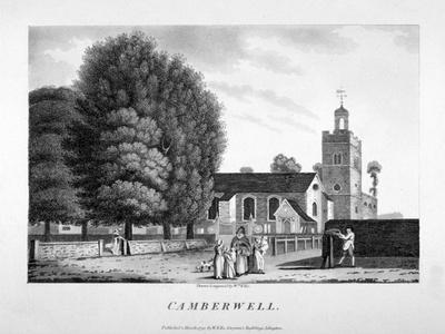 Church of St Giles, Camberwell, London, 1792