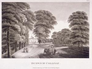 Dulwich College, Camberwell, London, 1792 by William Ellis