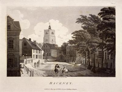 General View of Hackney, London, 1791