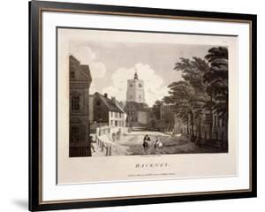 General View of Hackney, London, 1791 by William Ellis