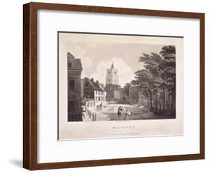 Hackney Brook, Hackney, London, 1791 by William Ellis