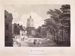 Hackney Brook, Hackney, London, 1791 by William Ellis