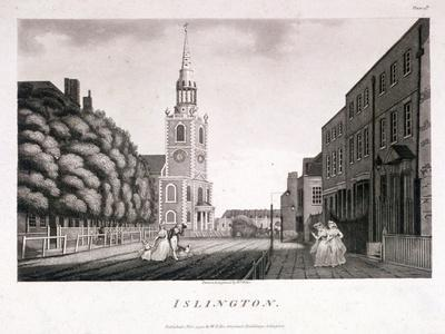 St Mary, Islington, London, 1792