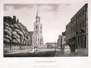 St Mary, Islington, London, 1792 by William Ellis