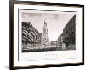 St Mary, Islington, London, 1792 by William Ellis