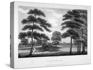 View of Clapham, London, 1792 by William Ellis