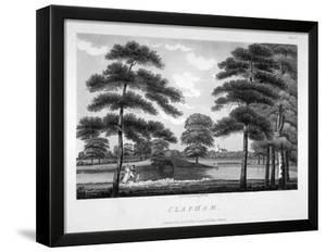 View of Clapham, London, 1792 by William Ellis