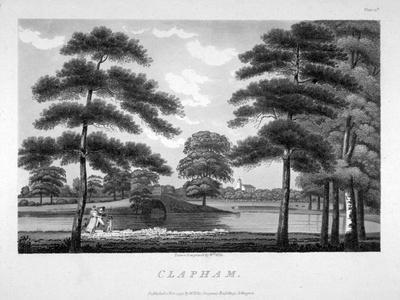 View of Clapham, London, 1792