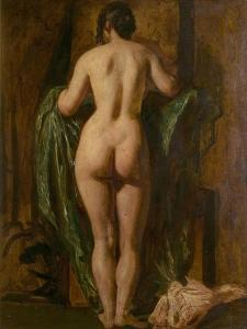 Nude Female Figure by William Etty