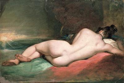 Nude Model Reclining, 19th Century