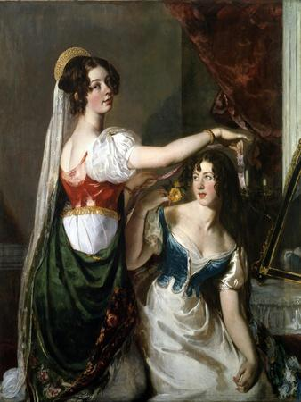 Preparing for a Fancy Dress Ball, 1833
