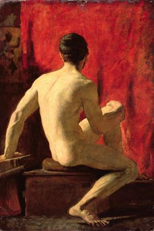Seated Male Model