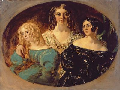 The Honourable Mrs. Caroline Norton and Her Sisters, C.1847