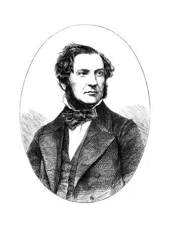 William Ewart Gladstone, British Liberal Statesman and Prime Minister, 1855--Giclee Print