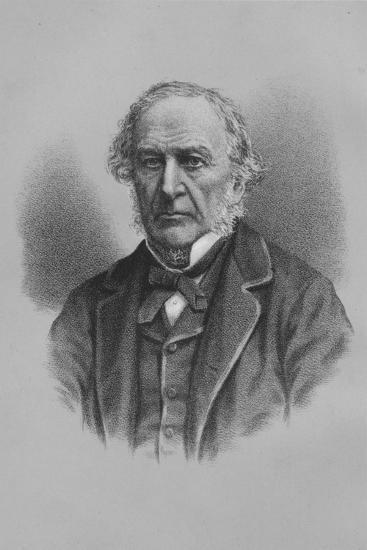William Ewart Gladstone, British statesman, 1883 (1936)-Unknown-Giclee Print