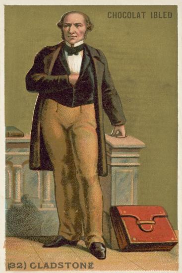 William Ewart Gladstone, English Statesman--Giclee Print