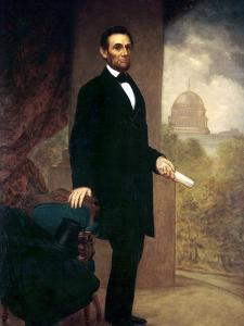 Abraham Lincoln by William F^ Cogswel