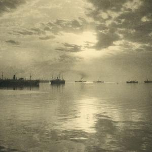 The First Troopships Carrying Australian and New Zealand Soldiers by William Fell