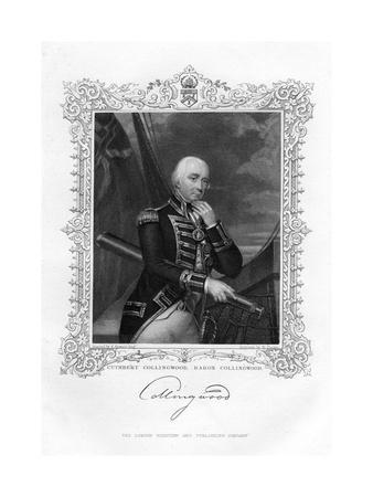 Cuthbert Collingwood, 1st Baron Collingwood, British Admiral of the Royal Navy, 19th Century