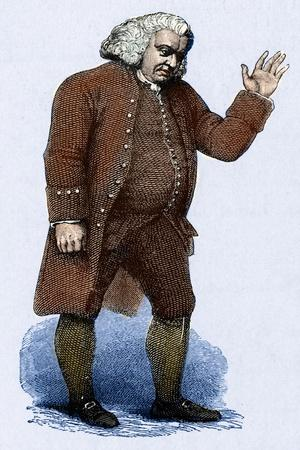 Samuel Johnson - English author, poet after Finden