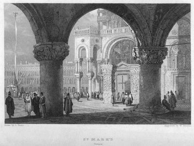 St Mark'S, Venice, 19th Century