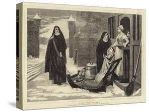 Pour Les Pauvres by William Frederick Yeames