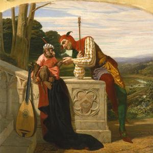Staunch Friends, 1859 by William Frederick Yeames