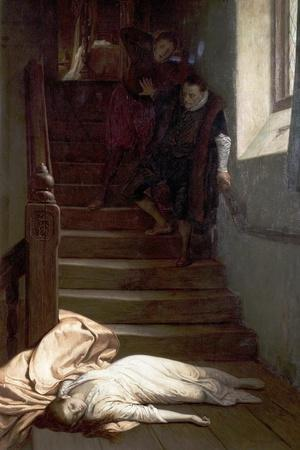 The Death of Amy Robsart, 1878
