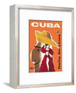 Cuba - Delta Air Lines - Cuban Dancer - Douglas DC-7 by William G^ Slattery