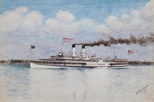 American Steamboat, Tashmoo, Built 1902 by William Gardham Larmour