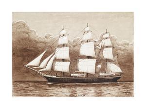 Training Ship, Joseph Conrad by William Gardham Larmour