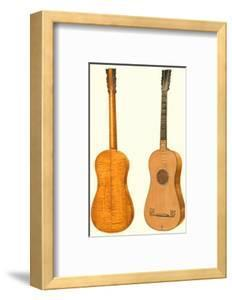 Antique Guitars I by William Gibb