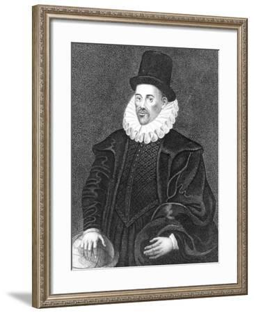 William Gilbert, English Physician, Late 16th Century--Framed Giclee Print