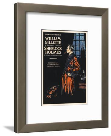 William Gillette as Sherlock Holmes: Farewell to the Stage