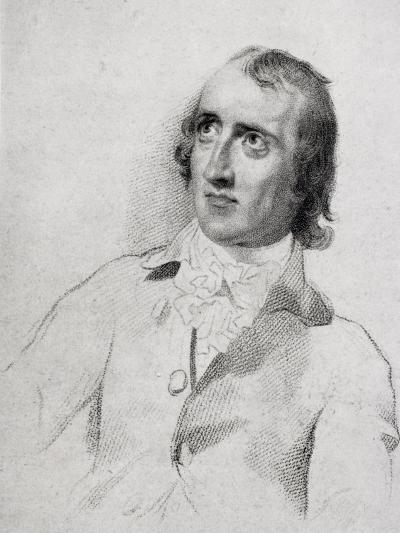 William Godwin (1756-1836) Aged 48, from 'The Life of Charles Lamb, Volume I' by E.V. Lucas,…-English School-Giclee Print