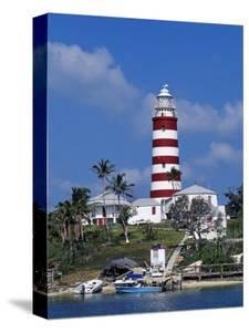 Lighthouse at Hope Town on the Island of Abaco, the Bahamas by William Gray