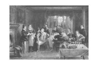 'Falstaff and His Friends', 1868