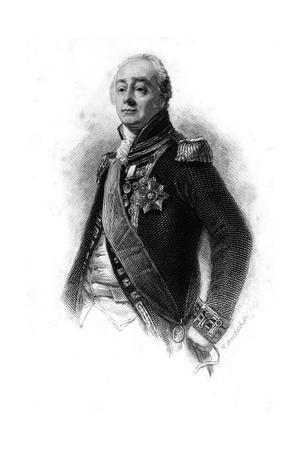 James Saumarez (1759-183), 1st Baron De Saumarez, 1837