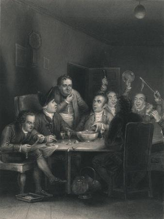'The Clubbists', 1860