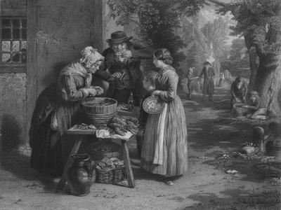 'The First Day of Oysters', 1863