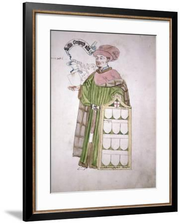 William Gregory, Lord Mayor--Framed Giclee Print