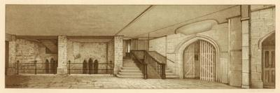 Area under Chamberlain's Court, Guildhall, City of London, 1886