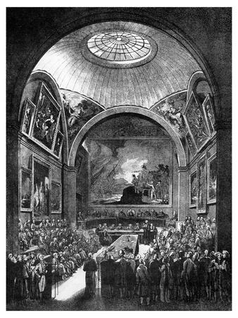 Common Council Chamber, Guildhall, City of London, 1886