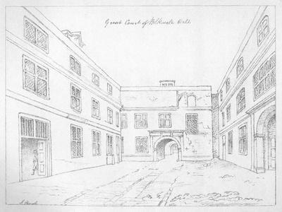 Great Court of Blackwell Hall, City of London, 1886