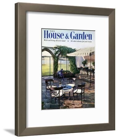 House & Garden Cover - March 1954