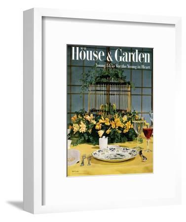 House & Garden Cover - May 1954