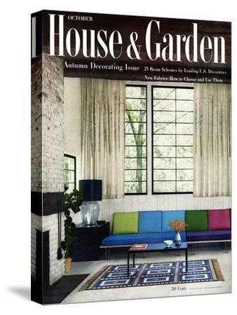 House & Garden Cover - October 1955