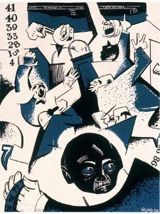 Stock Market Crash by William Gropper